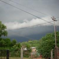 Hay alerta por fuerte tormenta con ráfagas que se produciría en zona sur y centro de la provincia
