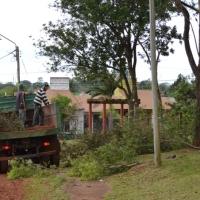 Nación otorgó un subsidio de $493.206 a la municipalidad para la compra de maquinaria de podas