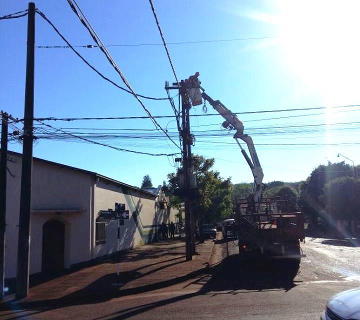 Corte de energía el domingo afectará el centro y cincobarrios