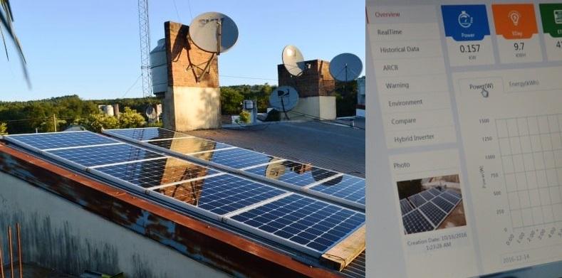 En Alem una casa produce su propia energía y es la primera autosustentable de laprovincia