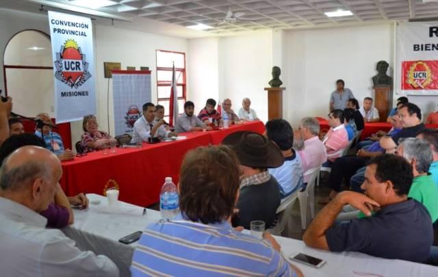 Corrientes será sede de la Convención Nacional de la UCR enabril