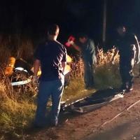 Hallaron el cuerpo de una mujer al costado de la ruta 14 con heridas de bala y a su marido herido