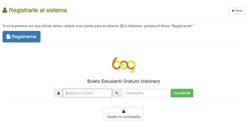 Está disponible el rempadronamiento para el Boleto Estudiantil Gratuito (BEG) en San Martín yCórdoba