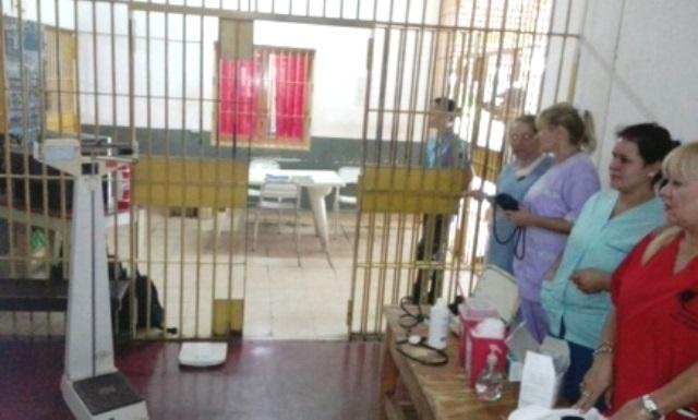 293 presos de la UR2 que recibieron controles de salud y arreglosdentales