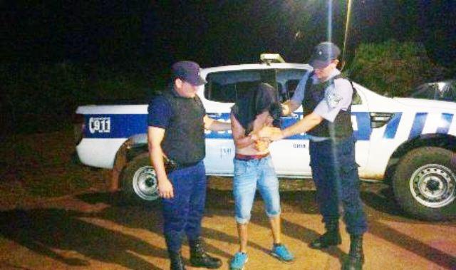 Disparó en un camping con una 38 a policías  y amenazó aturistas