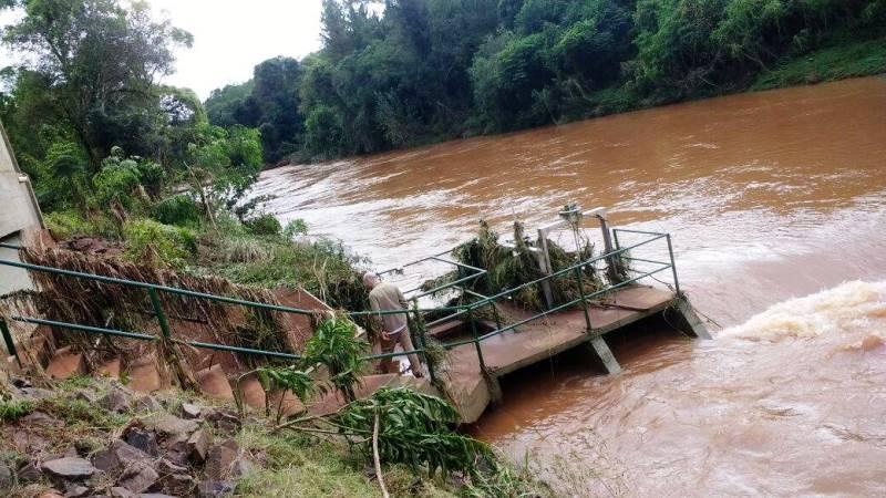 Toma del arroyo Bonito fuera de servicio, piden cuidar el agua para evitarcortes