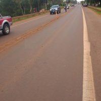Abuela falleció al ser atropellada en la Ruta 14 cuando intentaba trasponer la cinta asfáltica