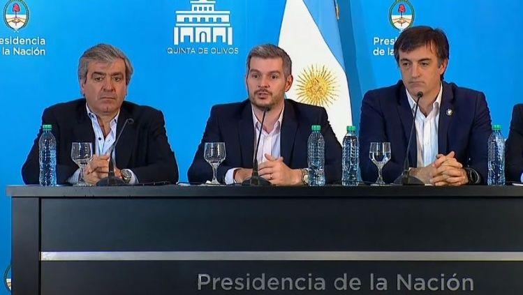 Los ministros Esteban Bullrich, Julio Martínez y José Cano dejarán sus cargos por sercandidatos