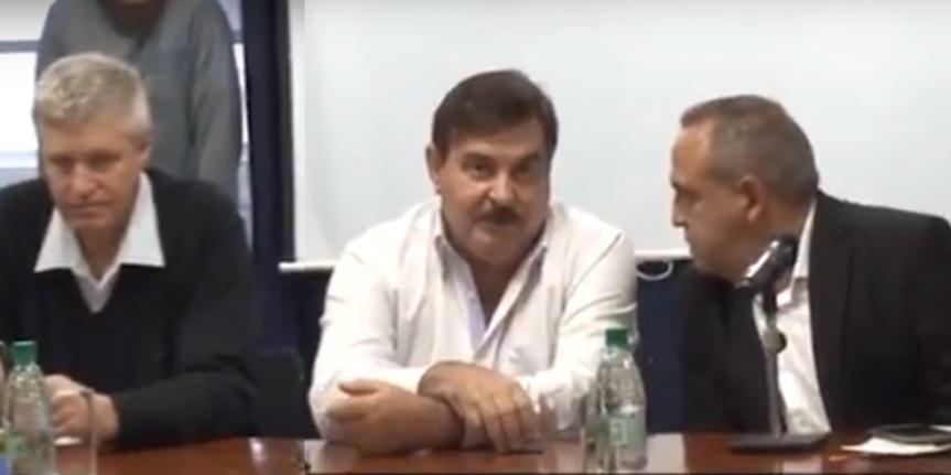 """""""Zapatean por el INYM porque se les termina el mandato y Rovira no los tiene encuenta"""""""