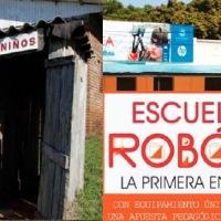 En la provincia con escuela robótica, hay alumnos que salen de la primaria sin saber leer ni escribir; aulas sin luz, agua y con letrina