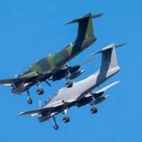 Dos Pucará IA58 vuelan por la Zona Centro en el marco del Programa Escudo Norte
