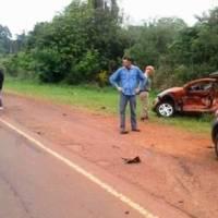 Choque múltiple en la ruta 5 dejó cinco personas heridas
