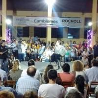 """""""Hacer las cosas y sin corrupción""""...Michetti en Oberá también habló de Maldonado"""