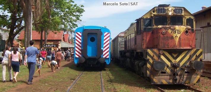 Aseguran que en 30 o 40 días llegaría el tren a Misiones para reducir la cantidad decamiones