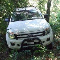 Hallaron con un drone camioneta robada en el monte y allanaron chacra utilizada para contrabando