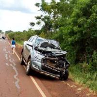 Dos jóvenes fallecieron en un choque frontal sobre ruta 5