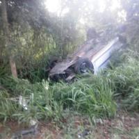 Un herido tras despistar en la Picada Sarmiento