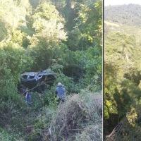 Joven falleció tras despistar en la ruta 2 y caer al vacío