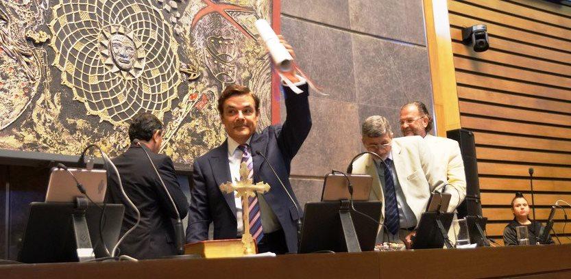 El bloque radical y el PRO votaron a Rovira para presidente de laCámara