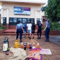 """Familia de """"boqueteros"""" liderados por la madre fueron detenidos en Villa Martos"""