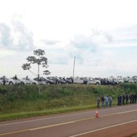 Montaron operativos con más de 80 policías sobre ruta 14 y zonas rurales