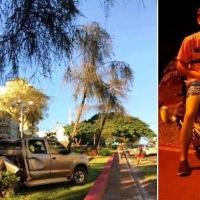 Adolescente que volcó en la plazoleta el 17, murió anoche al chocar con la moto