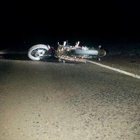 Despiste en la ruta 5 dejó un joven motociclista herido