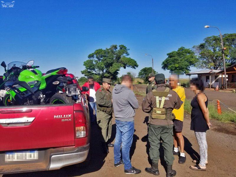 Secuestran más de $200 mil pesos y 27.001 dólares, el conductor iba desde Misiones a BuenosAires