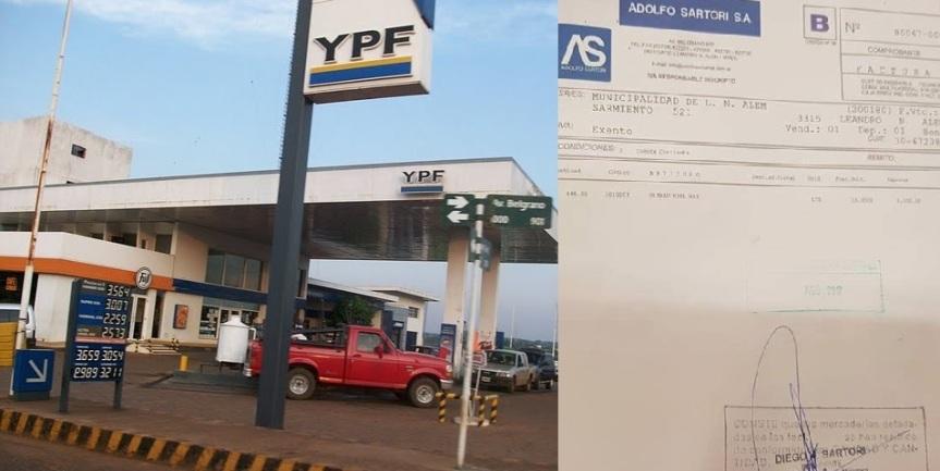 Acusan a Sartori de violar la ley comprando combustible para la comuna a su empresafamiliar