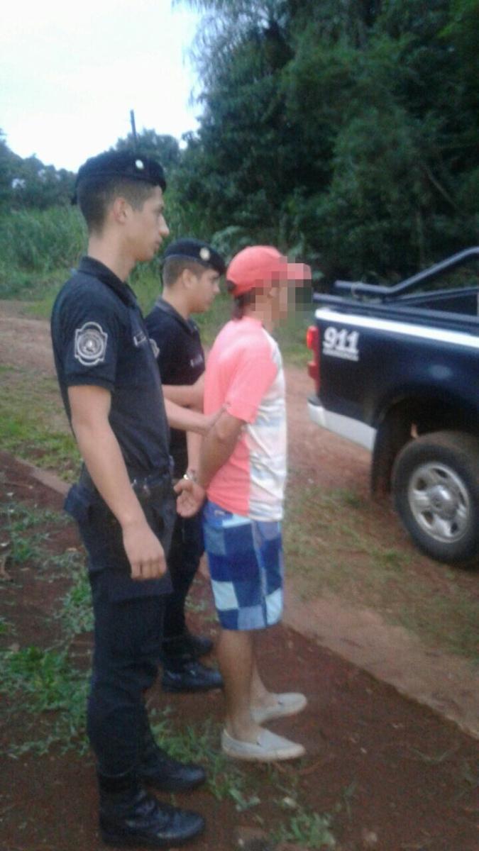 Discutieron y uno agredió al otro con un machete en avenida Guayaba