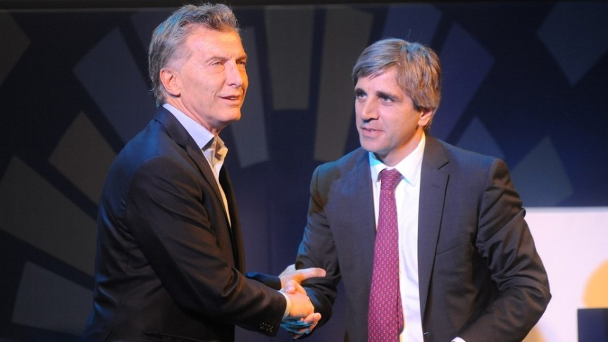 Caputo renunció a la presidencia del BancoCentral