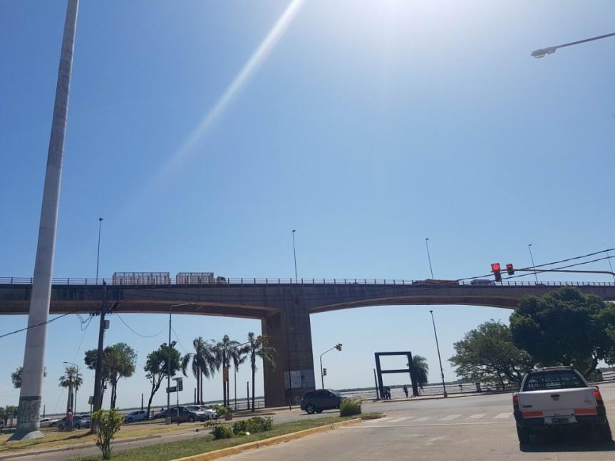 Ambulancia con drogas fue demorada en la subida del puente General Belgrano con 200 kilos demarihuana