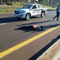 Pérez defendió el accionar policial, la bala encontrada en el cuerpo sería de un calibre menor al usado por la policía