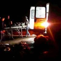 Motociclista falleció en choque con un automóvil en ruta 221