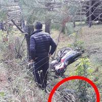 Despiste en la ruta 5: el motociclista quedó en terapia intensiva
