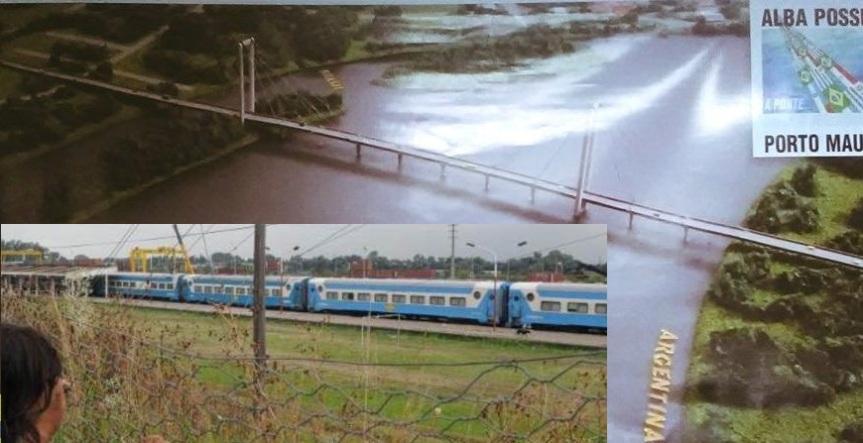 Inversor norteamericano construiría el puente y el tren de Santa Rosa aGarupá