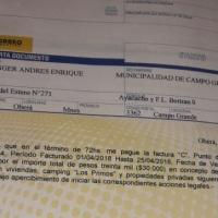 Denuncian que el intendente de Campo Grande usa fondos municipales para propiedades privadas