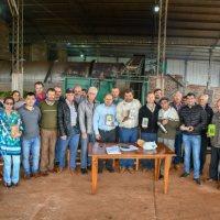 11 cooperativas de yerba en Campo Ramón recibirán $3 millones para promoción de una marca colectiva