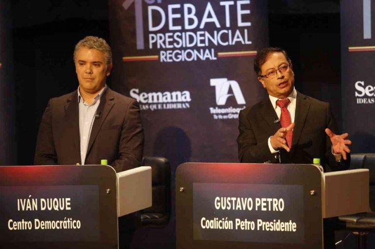 Colombia elige presidente entre un exguerrillero y un senador ex representante del BID asesor de laONU