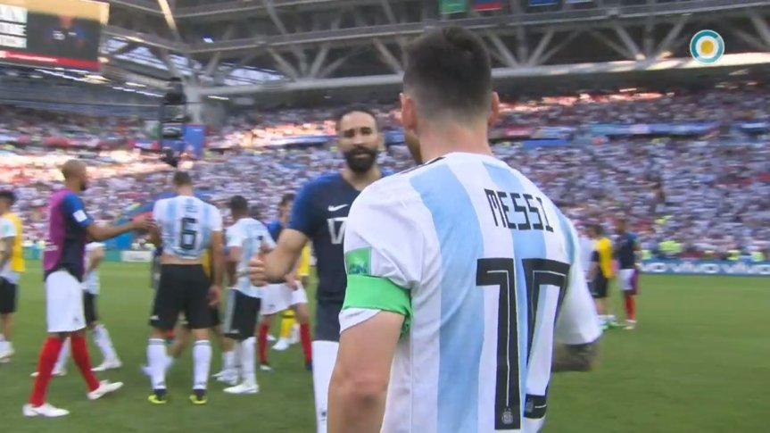 Francia eliminó a la Argentina, con 19 años Mbappé fue la gran figura con dosgoles