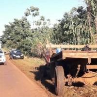 Motociclista falleció tras chocar contra el cachapé de un tractor en la ruta