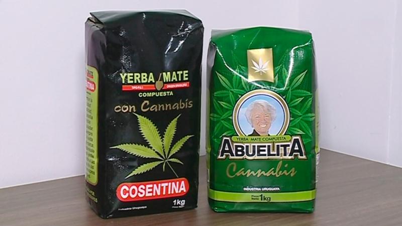 Sale a la venta yerba mate con cannabis a 180 pesos elkilo