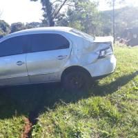 Encontraron un auto abandonado en la ruta 5 acondicionado para el tráfico ilegal
