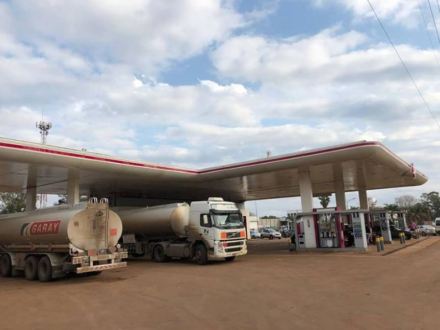 Ventas de combustibles cayeron 6,65% durante septiembre en las estaciones deservicio