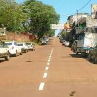 Comerciantes piden que no se prohíba estacionar contra la plazoleta en avenida Libertad altura Río Negro