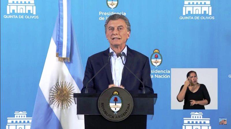 """Macri: """"Hoy estamos mejor parados hacia el futuro que en2015"""""""