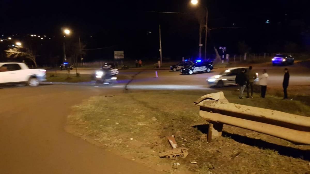 Automovilista chocó contra el guardarrail de Av. De las Américas y falleció