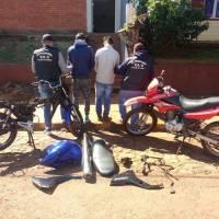 Ofrecían en Facebook motocicletas robadas y fueron detenidos