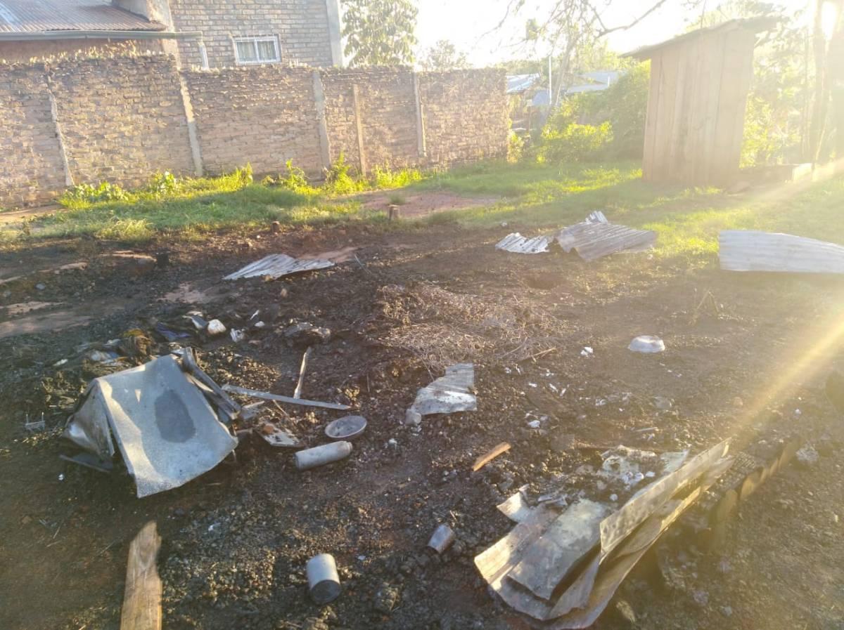 Hombre de 44 años murió carbonizado tras incendiarse su casa
