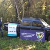 Hallaron oculta camioneta acondicionada para el narcotráfico en la ruta costera
